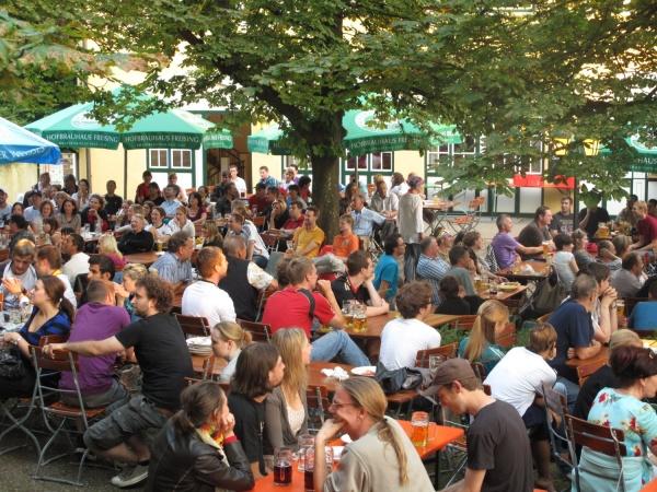 Biergärten München Hofbrauhaus Keller Freising