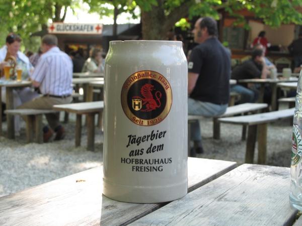 Munich Beer Gardens Schlossallee Haag